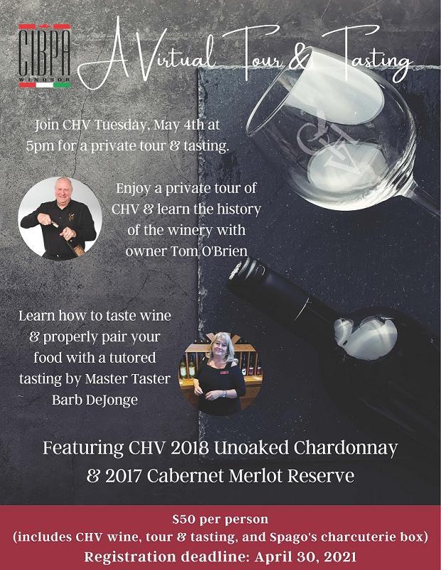 May 4 2021 Wine Tour & Tasting