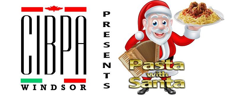 Pasta with Santa