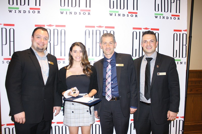 Motor City Community Credit Union / CIBPA Bursary - Bianca Pirrone