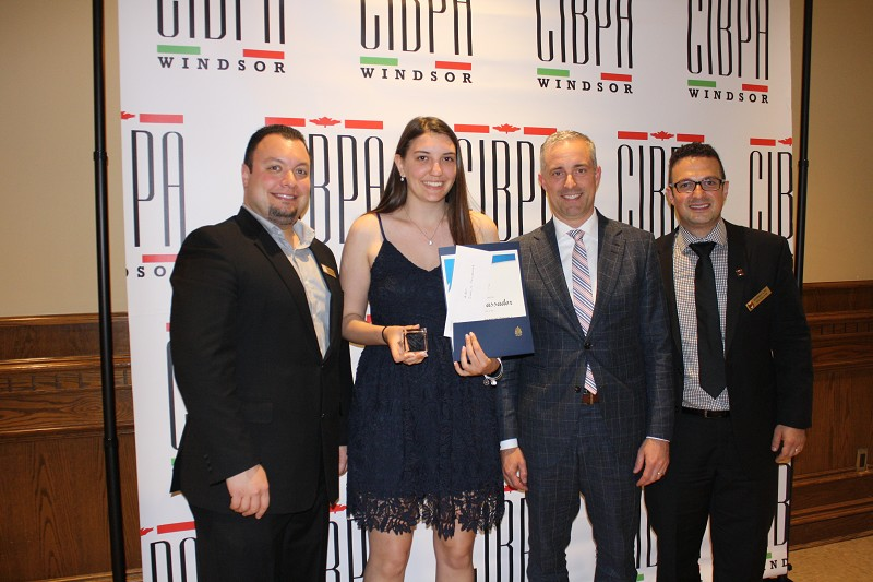 Royal Bank Financial Group / CIBPA Scholarship for Persons of Italian Origin - Carla Passador